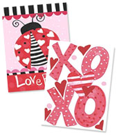 Valentines Day Note Card Sets