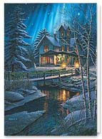 Landscape Christmas Card | 74203
