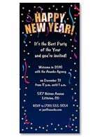 New Year's Invitation #2003582-P